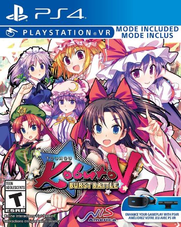 Touhou Kobuto V: Burst Battle C/ VR Mode - PS4