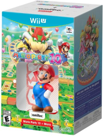 Mario Party 10 + Amiibo Mario Bundle - Wii U