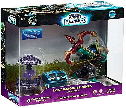 Skylanders Imaginators Lost Imaginite Mines Level Pack Ro-Bow