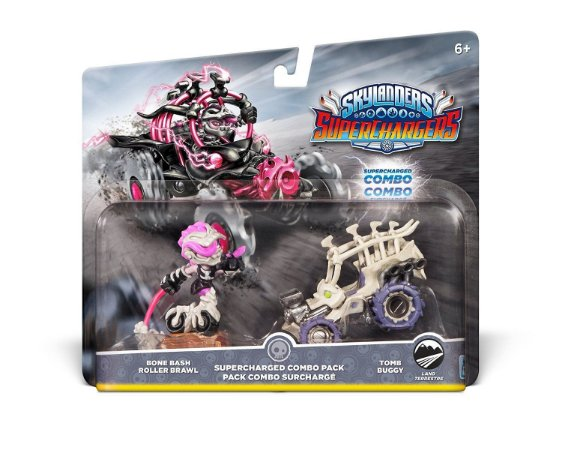 Skylanders Superchargers Pack Bone Bash Roller Brawl + Buggy
