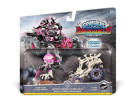 Skylanders Superchargers Pack Bone Bash Roller Brawl + Buggy
