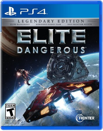 Elite Dangerous The Legendary Edition - PS4