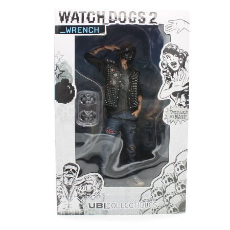 Ubisoft Watch Dogs 2 Wrench Figurine Statue