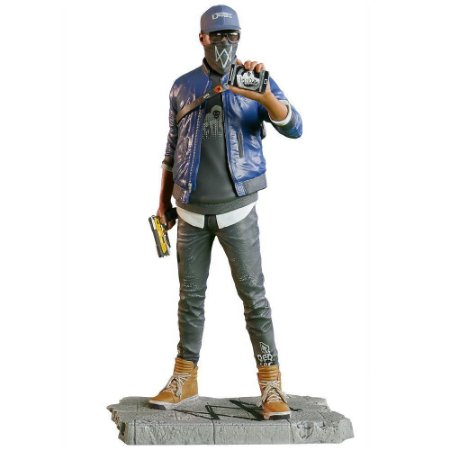 Ubisoft Watch Dogs 2 Marcus Figurine Statue