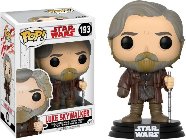 Funko POP Star Wars The Last Jedi 193 Luke Skywalker