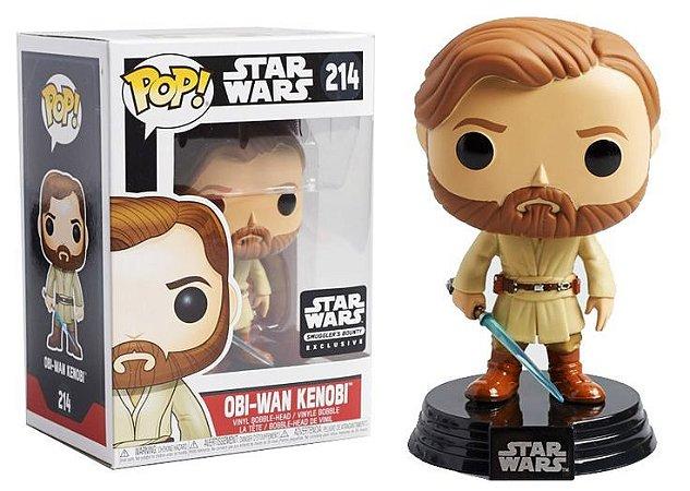 Funko POP Star Wars 214 Obi-Wan Kenobi Smuggler's Bounty Exclusive