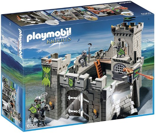 PLAYMOBIL Wolf Knights Castle 6002