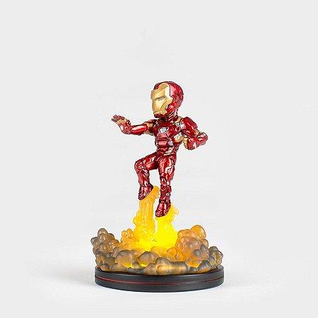 Iron Man Light-Up Quantum Mechanix Q-Fig Diorama QMx