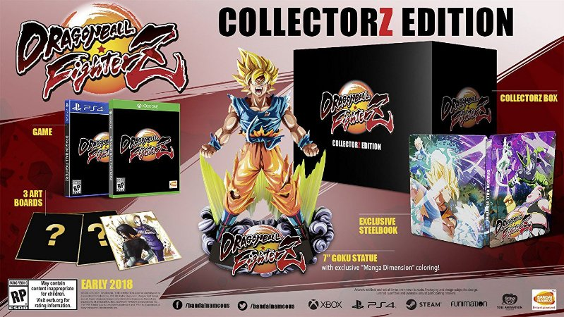 Dragon Ball FighterZ CollectorZ Edition - PS4