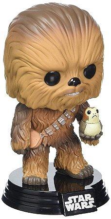 Funko POP Star Wars The Last Jedi 195 Chewbacca e Porg