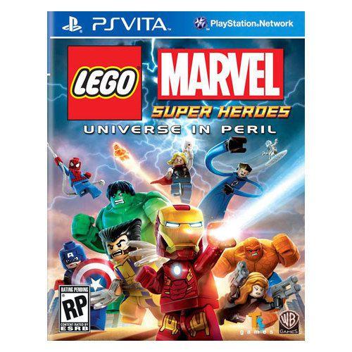 Lego Marvel Universe In Peril - Ps Vita