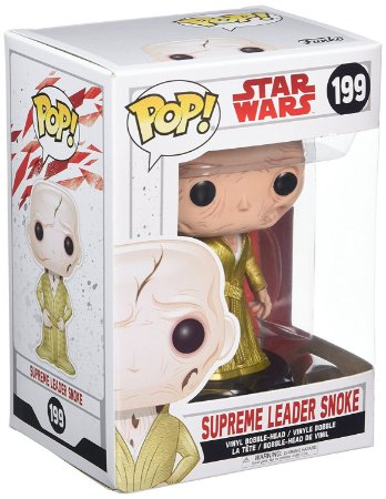 Funko POP Star Wars The Last Jedi 199 Supreme Leader Snoke