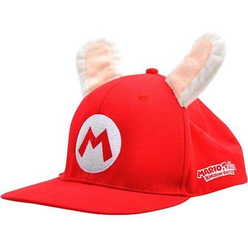 Boné Mario + Rabbids Kingdom Battle Hat Cap Nintendo