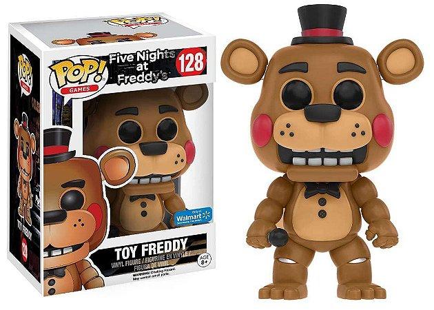 Funko Pop Five Nights At Freddy's 128 Toy Freddy