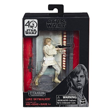 Star Wars The Black Series Titanium Series Luke Skywalker