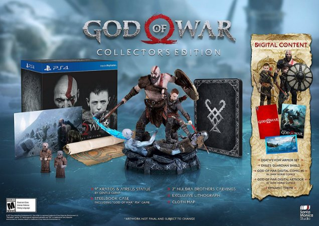 God of War Collectors Edition - PS4