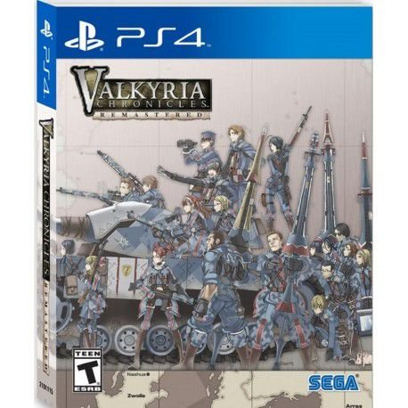Valkyria Chronicles Remastered Steelbook Launch Edition - PS4