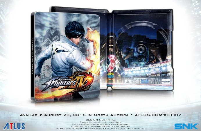 The King of Fighters XIV SteelBook Edition - PS4
