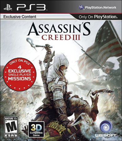 Assassin's Creed III 3 - PS3