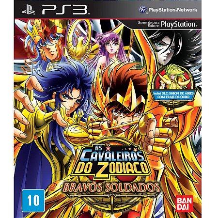 Os Cavaleiros do Zodiaco: Bravos Soldados - PS3