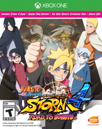 Naruto Shippuden 4 Road to Boruto C/ Steelcase - Xbox One