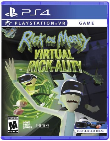 Rick & Morty Virtual Rick-Ality - PS4 VR