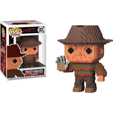 Funko Pop 8-bit A Nightmare on Elm Street 22 Freddy Krueger