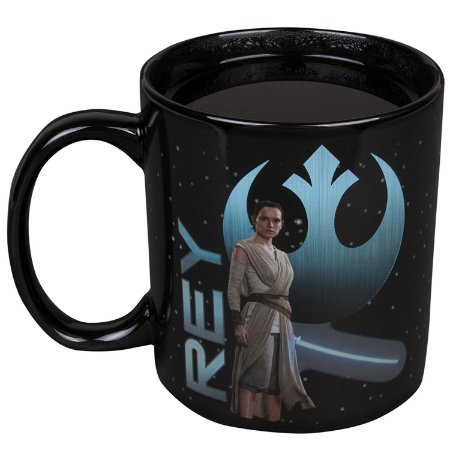 Caneca Star Wars The Last Jedi Episode 8 Rey Mug Termoativada