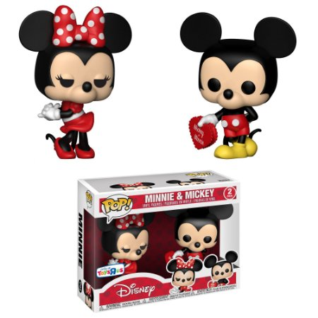 Funko Pop Disney 2 Pack Mickey & Minnie