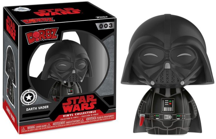 Funko Dorbz Star Wars 003 Darth Vader Special Edition