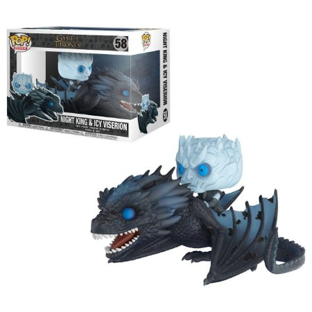 Funko Pop Game of Thrones 58 Night King on Icy Viserion Dragon