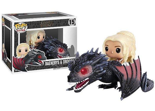 Funko Pop Game of Thrones 15 Daenerys e Drogon