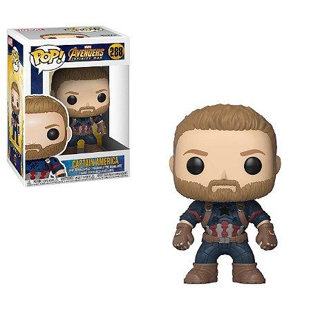 Funko Pop Marvel Avengers Infinity War 288 Captain America