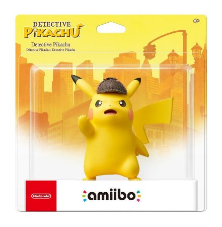 Amiibo Detective Pikachu - 3DS