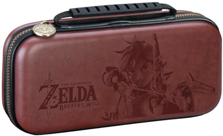 Deluxe Travel Case Switch Zelda Link Brown - Switch