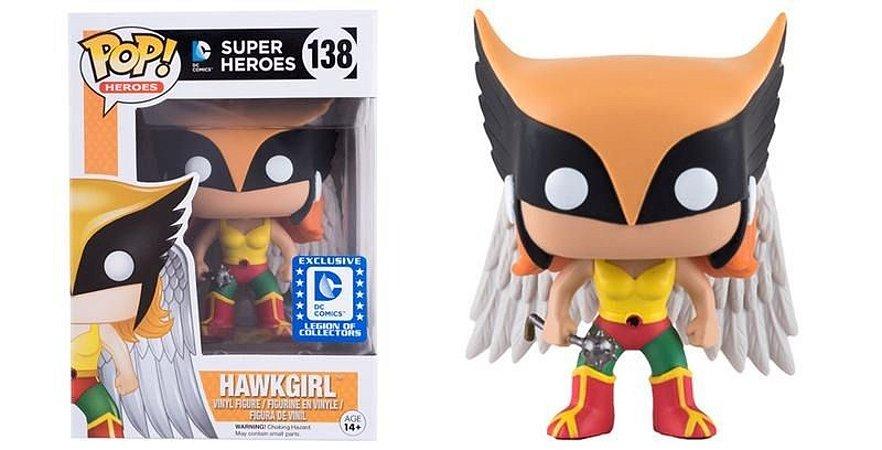 Funko Pop DC Super Heroes 138 Hawkgirl Exclusive