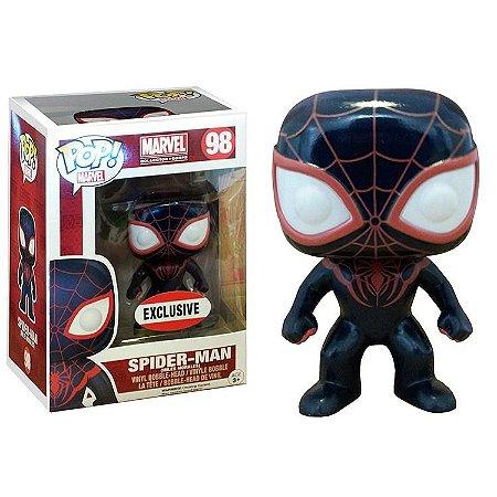 Funko POP Marvel 98 Spider-Man Miles Morales Exclusive
