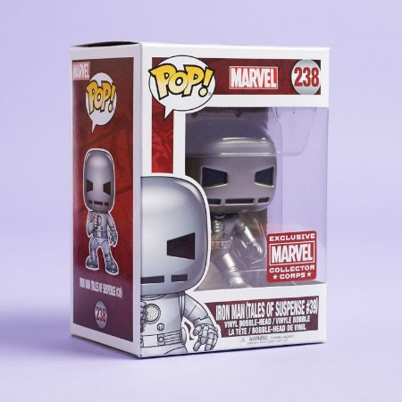 Funko Pop Marvel 238 Iron Man Tales of Suspense 39 Exclusive