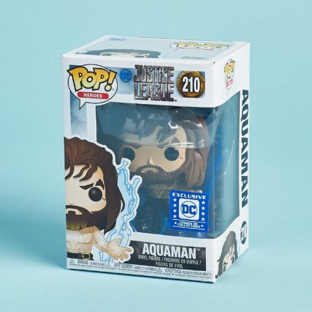 Funko Pop DC Justice League 210 Aquaman Exclusive