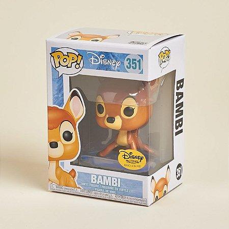 Funko Pop Disney Treasures 351 Bambi On Ice Exclusive