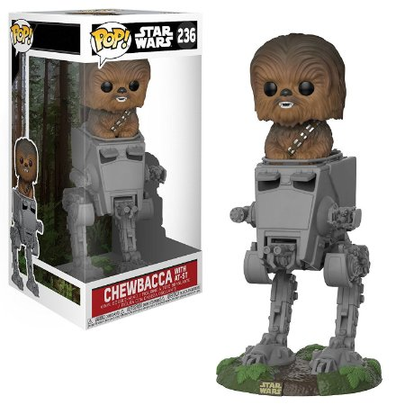Funko Pop Star Wars 236 Chewbacca in AT-ST Deluxe