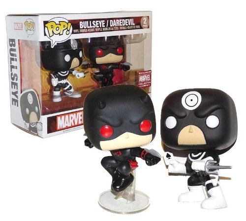 Funko Pop Marvel 2-Pack Bullseye e Daredevil Exclusive