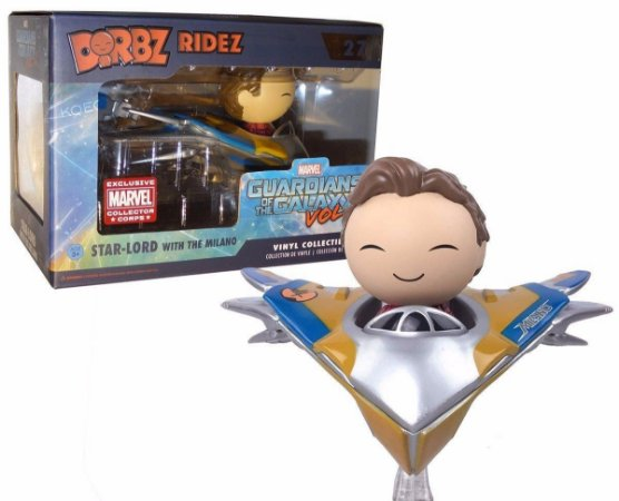 Funko Dorbz Guardiões da Galáxia Vol.2 27 Star-Lord with Milano
