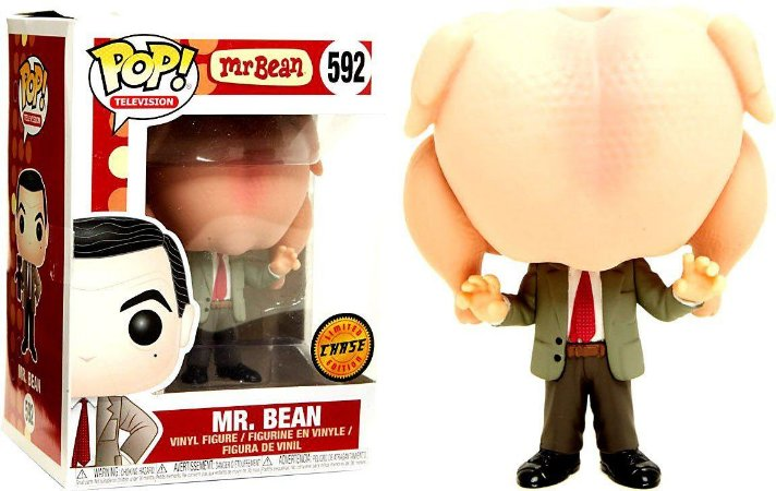 Funko Mr. Bean Pop 592 Chicken Chase Variant Limited Edition