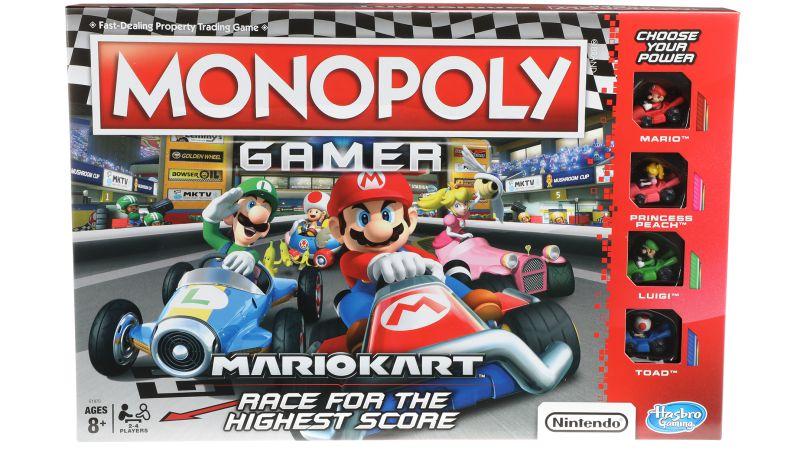 Monopoly Gamer Mario Kart - Hasbro (inglês)