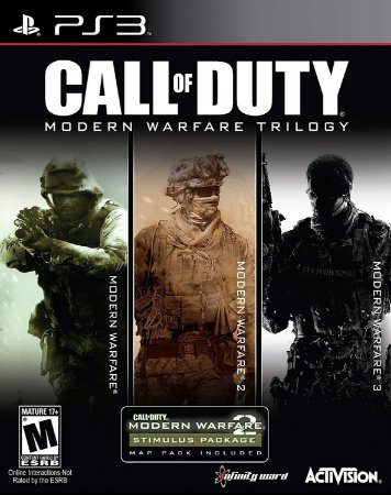 Call of Duty Modern Warfare Trilogy Collection - PS3