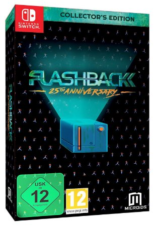 Flashback 25th Anniversary Collectors Edition - Switch