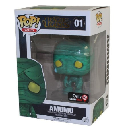 Funko Pop League of Legends 01 Amumu Exclusive