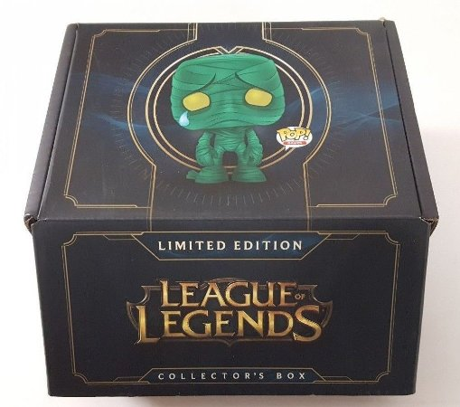 Funko Pop League of Legends Limited Collectors Box