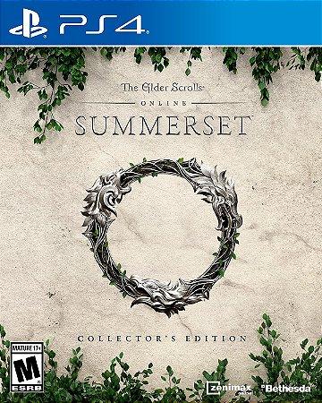 The Elder Scrolls Online Summerset Collectors Edition PS4